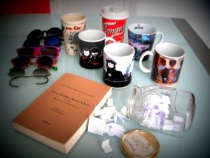 Mis palíndromos, tazas y gafas de sol